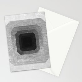 metal polygon Stationery Cards
