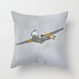 Vampire Jet Throw Pillow