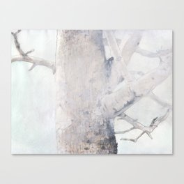 Train Station Tree Canvas Print