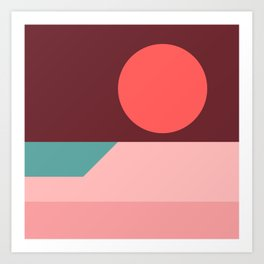 Sunseeker 09 Square Kunstdrucke