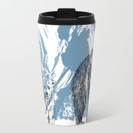 Bears family print Travel Mug