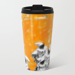 La Citta' di Pulcinella Metal Travel Mug