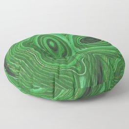 GREEN RUSSIAN  MALACHITE GEM STONE  ART Floor Pillow