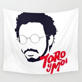 Toro Y Moi - Minimalistic Print Wall Tapestry