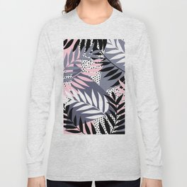 Palms on Polka Dots Long Sleeve T-shirt