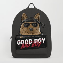Good Boy Bad Boy Backpack