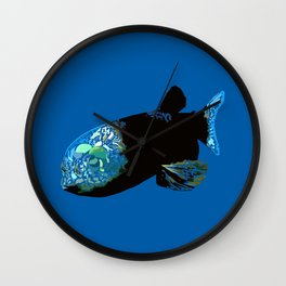Barreleye Fish Wall Clock
