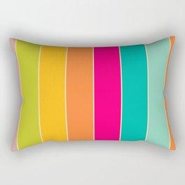 Colour Stripes Rectangular Pillow