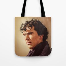 Against the rest of the world - Sherlock Tote Bag