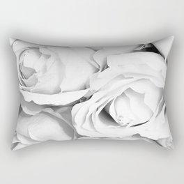 Vintage Rose Bouquet Rectangular Pillow
