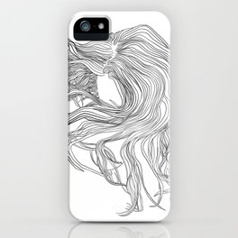 Howling Mane iPhone Case