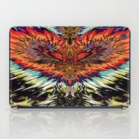 third eye iPad Cases featuring Third Eye by FractalFox