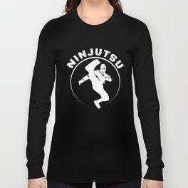Ninjutsu Master Ninja Martial Art Fight Sport Long Sleeve T-shirt