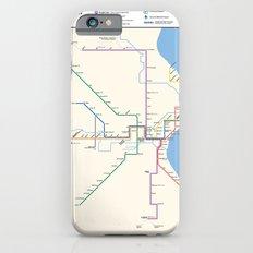 Milwaukee Transit System Map Slim Case iPhone 6s