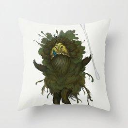 King Kawak Throw Pillow