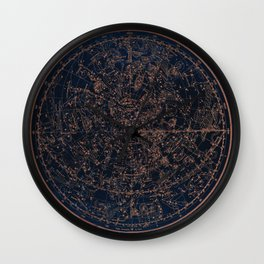Constellations of the Northern Hemisphere Wall Clock