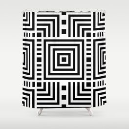 Squew Shower Curtain