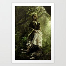 Wood Witch Art Print