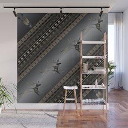 Elk Spirit (Gray) Wall Mural