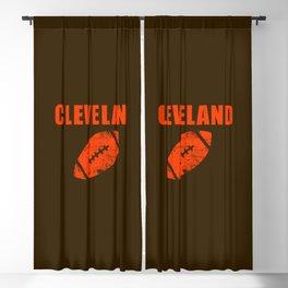 Cleveland Football Blackout Curtain