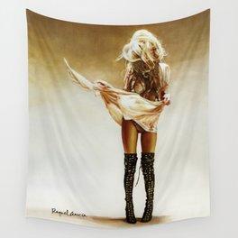 Con faldas y a lo loco! Wall Tapestry