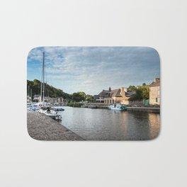 The habour of the city of Dinan Bath Mat