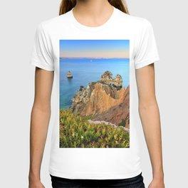 Praia Do Camilo At Sunset. Algarve. Portugal T-shirt