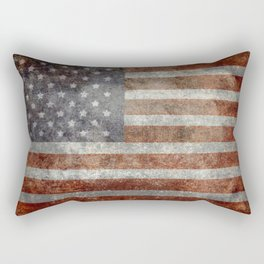 """Old Glory"", The Star-Spangled Banner Rectangular Pillow"