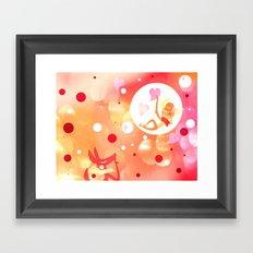 That warm Side Framed Art Print