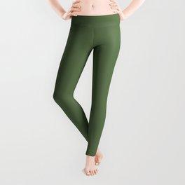Kale | Pantone Fashion Color Spring : Summer 2017 | Solid Color Leggings