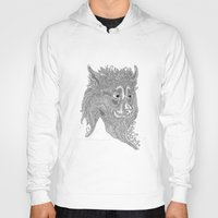 beast Hoodies featuring Beast by Olya Goloveshkina