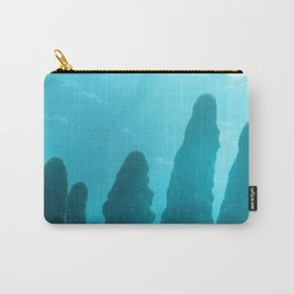 Watercolor People in Nature, OL, Children 14, with Coral Reef, St John, USVI Carry-All Pouch