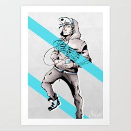 Coupure / #2 Art Print