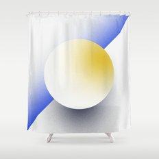 Shape Studies: Circle IV Shower Curtain
