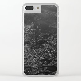 over structured world Clear iPhone Case