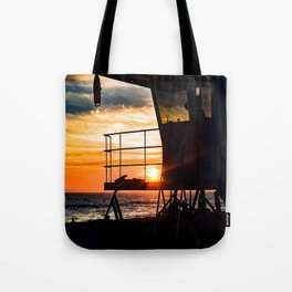 No Eclipse In Sight - Surf City September 27, 2015 Tote Bag