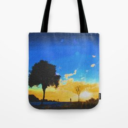 Before dusk melted colors of the world. Tote Bag