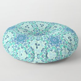 MAGIC MORROCAN MEDAILLION Floor Pillow