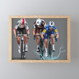 Milan - San Remo 2019 Framed Mini Art Print