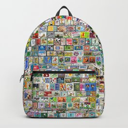 Soccer Stamps Backpack