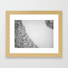 Kaos Framed Art Print