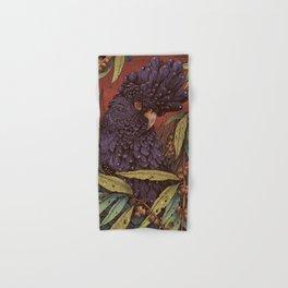 Black Cockatoo Hand & Bath Towel