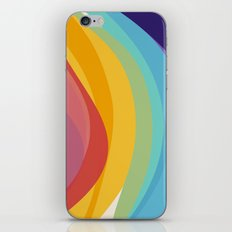 Fig. 045 Colorful Swirls iPhone & iPod Skin