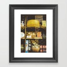 Gastronomie Italienne, Vins Framed Art Print