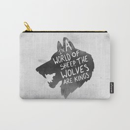 Wolves Are Kings Carry-All Pouch