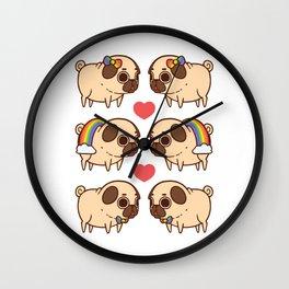 Puglie Pride Wall Clock