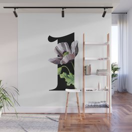 Secret Garden in Number 1 / with Vintage Feel Wall Mural