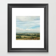 I Can See For Miles Framed Art Print