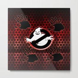 ghost halloween Metal Print
