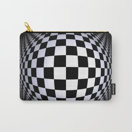 black-and-white -01- Carry-All Pouch